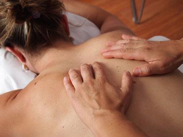 Tibetische Rückenmassage